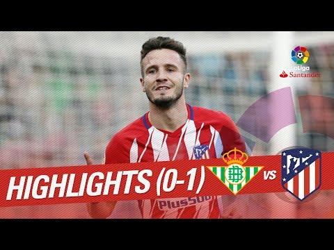 Highlights Real Betis vs Atlético de Madrid (0-1)