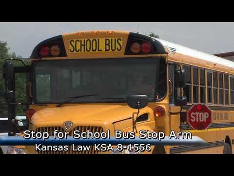 Stop for school bus stop arm