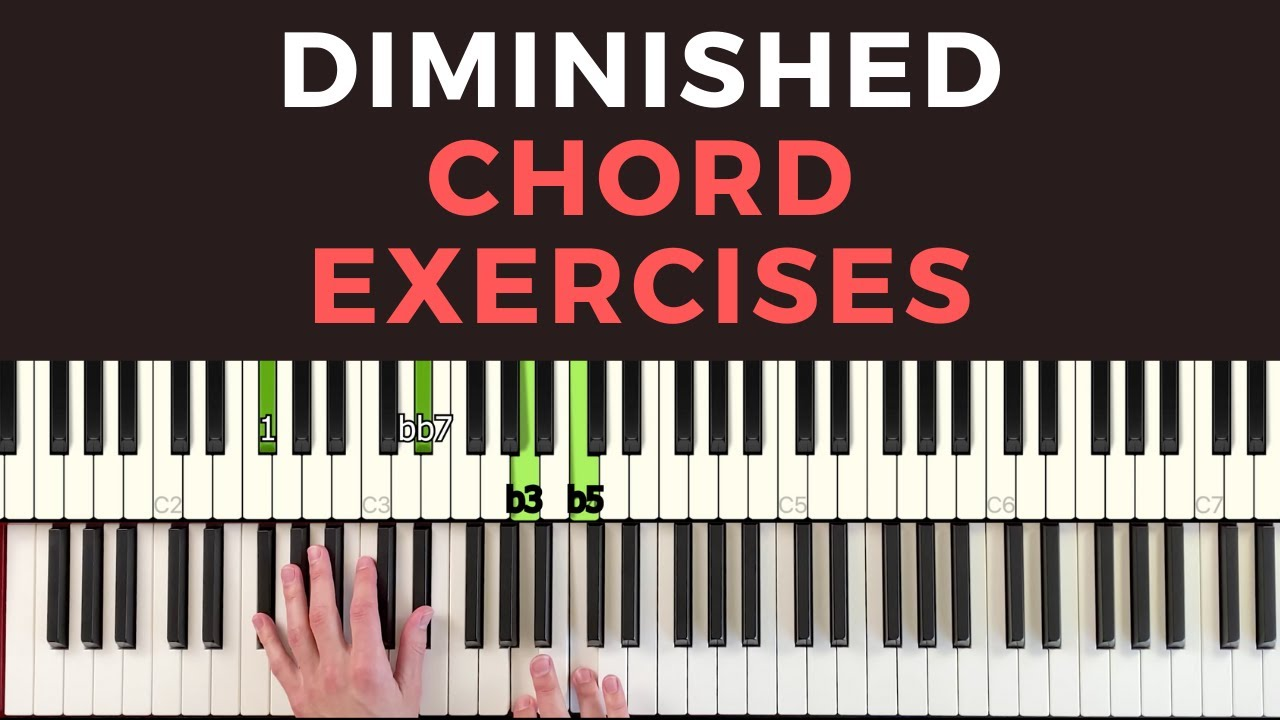 The Right Way to Use Diminished 7 Chords for Jazz Piano