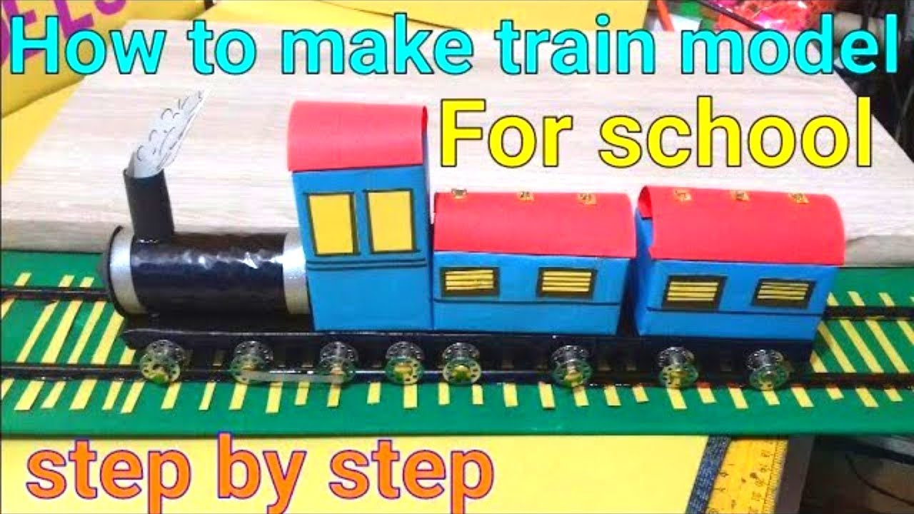 Recycle Factory Train Set Waste Recyled Paper Train Rail Track Contruction Kit