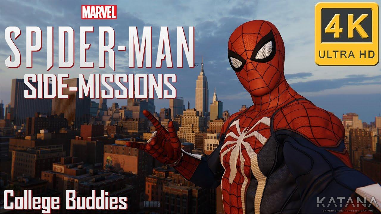 College Buddies - Spider-Man PS4 Wiki Guide - IGN