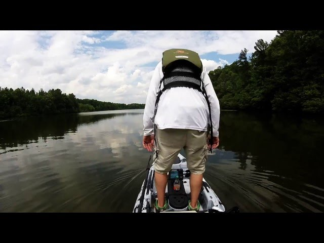 2016 Vibe Sea Ghost 130 Paddling/Standing Test