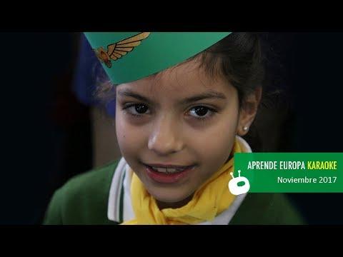 Aprende Europa Cantando KARAOKE | Colegio Internacional Kolbe