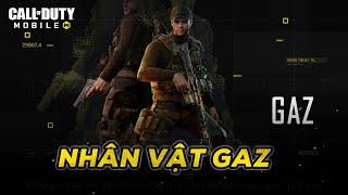 Gaz - Tiểu sử và cốt truyện | Call of Duty Mobile VN