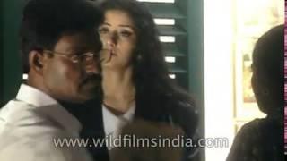 Manisha Koirala and Arjun Rampal on the sets of Moksha   Behind the scenes