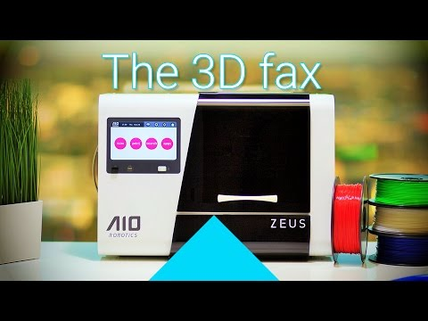 [2/2] 3D fax: AIO Robotics ZEUS unboxing + first 3D scan and print!