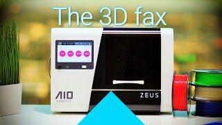 [2/2] 3D fax: AIO Robotics ZEUS unboxing + first 3D scan and print!