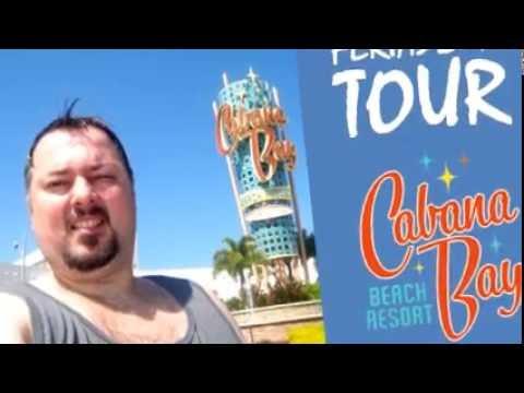 Cabana Bay Beach Resort Tour Completo Ferias Julho 2016 Universal