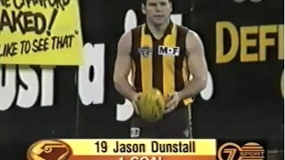 The Merger Match - FULL GAME. Hawthorn v Melbourne 1996 AFL