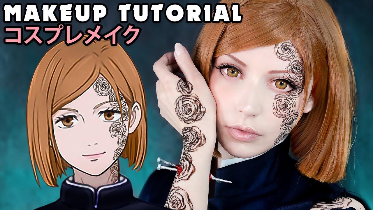 ☆ Nobara Cosplay Makeup Tutorial Jujutsu Kaisen 呪術廻戦 ☆
