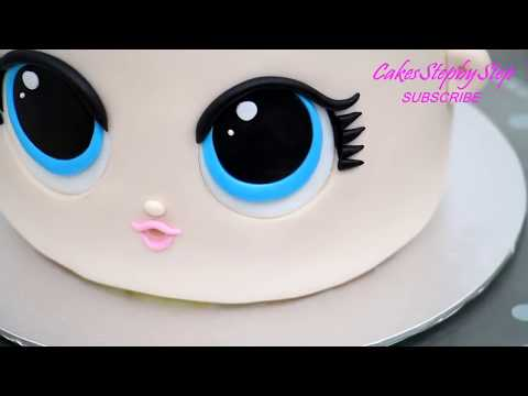 Lol Surprise Unicorn Kawaii Cake Youtube