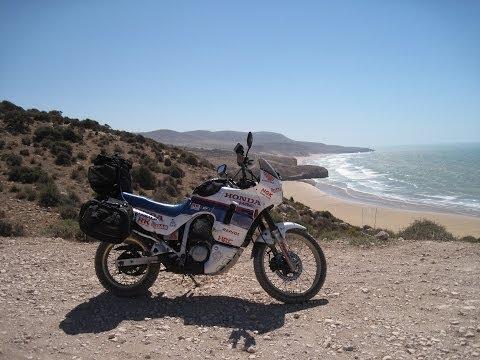 [Slow TV] Motorcycle Ride - Morocco -  Marrakesh to Essaouira