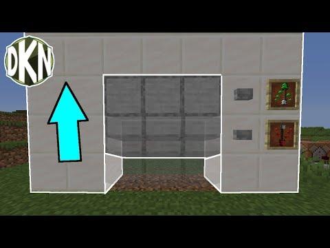 Cách làm CỬA GARA HOẠT ĐỘNG trong Minecraft | Hướng dẫn nhanh