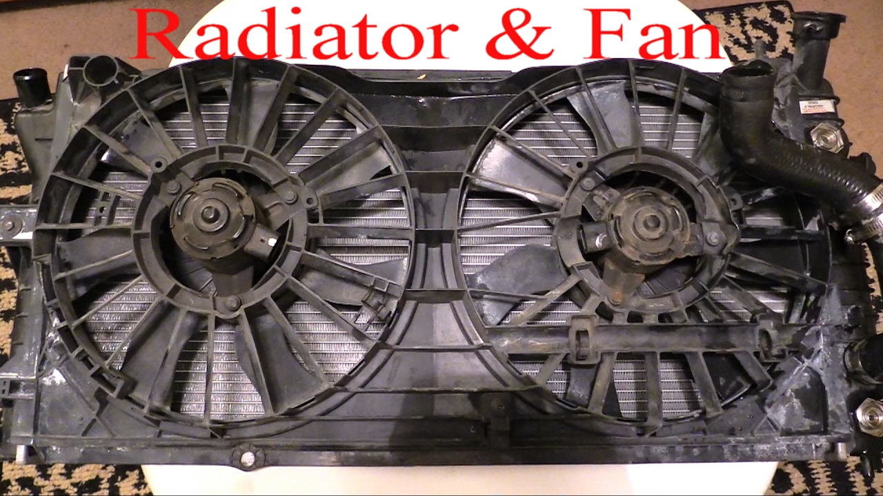 2005 Chevy Impala Cooling System Diagram Wiring 2000 Engine Radiator Fan Removal To Up Close Youtube 43