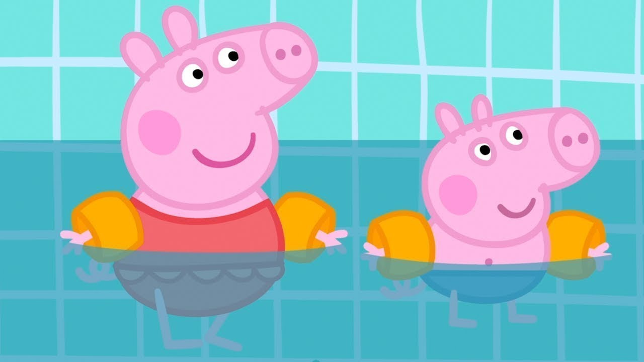 Peppa Pig Full Episodes |Swimming with Peppa and George #98