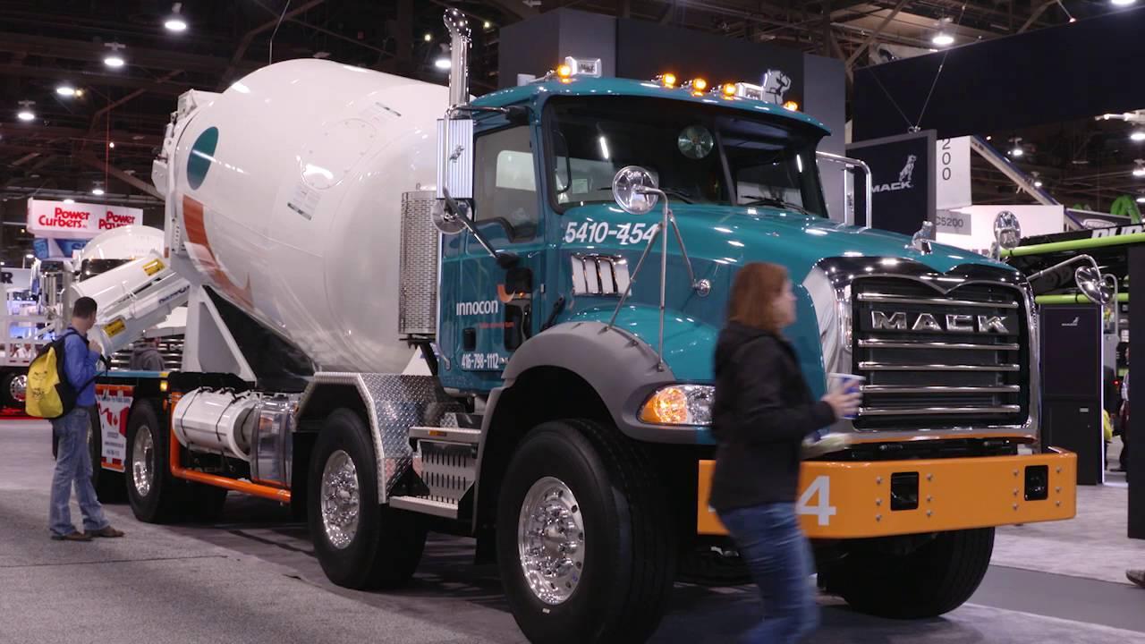 mack trucks at world