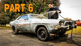 Download ABANDONED Dodge Challenger Rescued After 35 Years Part 6: HEMI and Rust Removal Mp3 and Videos