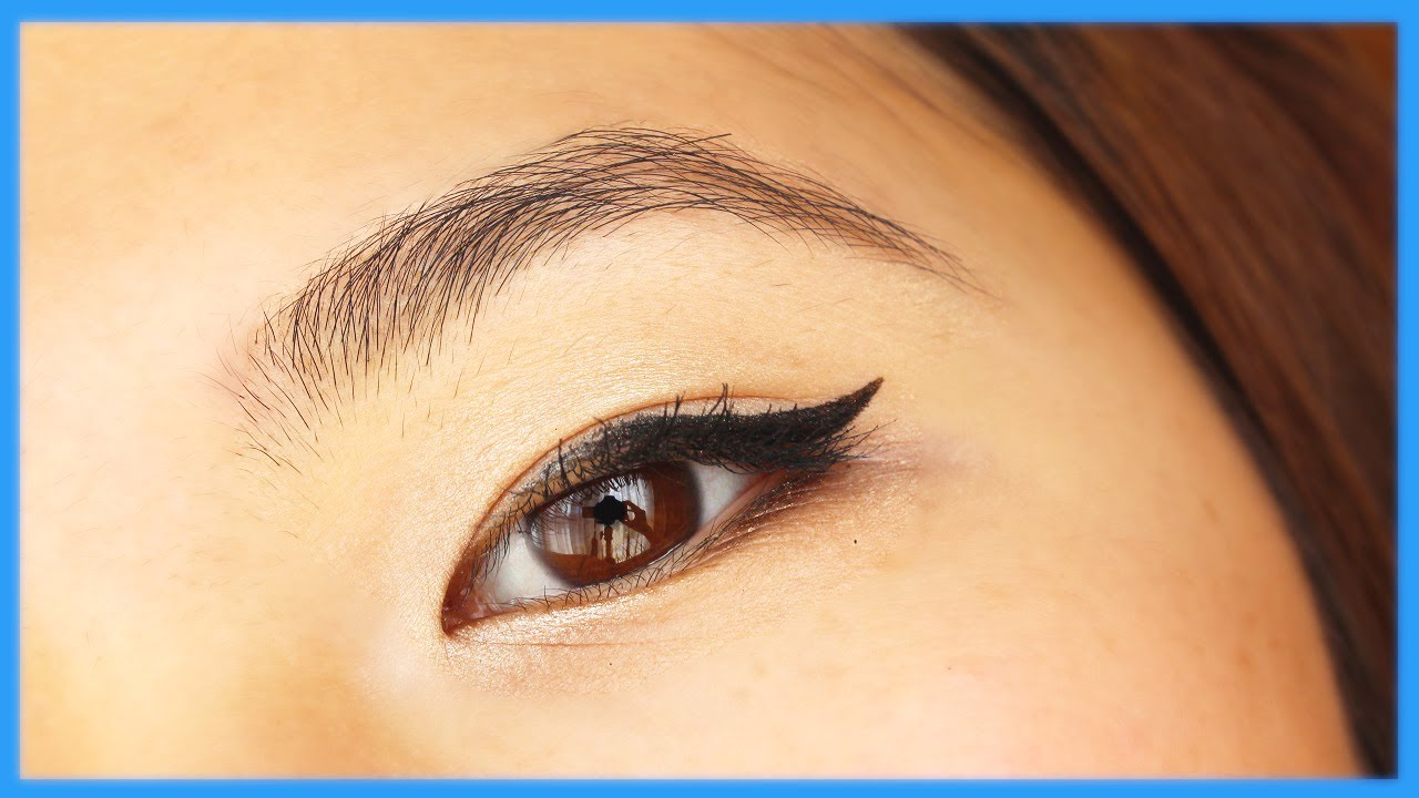 My Everyday Eye Makeup Routine For Asian Eyes Youtube