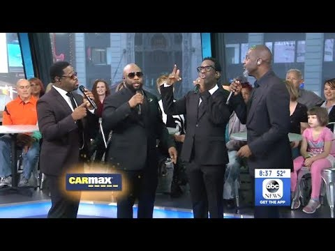 Boyz II Men -  I'll Come Running Back To You - LIVE (GMA)