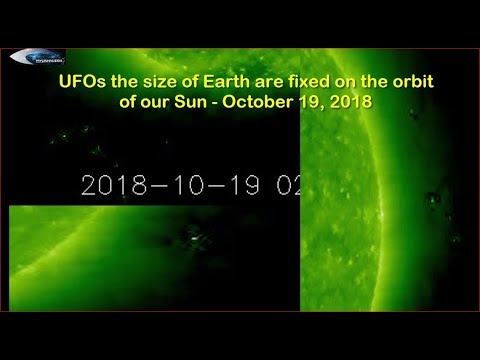 nouvel ordre mondial | UFOs the size of Earth are fixed on the orbit of our Sun - October 19, 2018