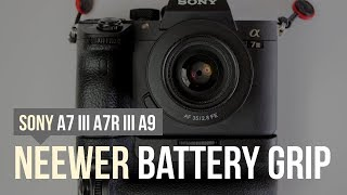 Neewer Battery Grip for Sony A7III, A7RIII, A9 Cameras