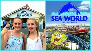 Download lagu Vacation Vlog Theme Park Fun Sea World Gold Coast Australia MP3