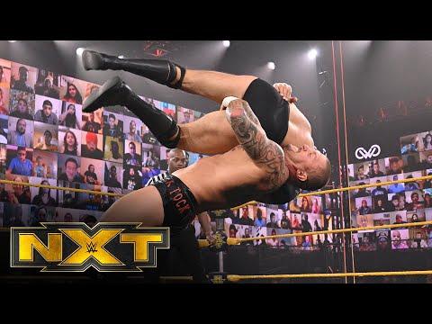 Bálor & Kross w/Scarlett vs. Lorcan & Burch – NXT Tag Team Title Match: WWE NXT, March 17, 2021