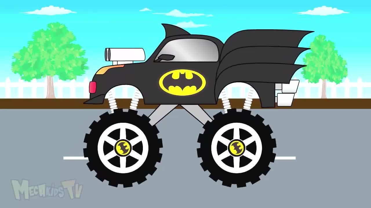 Auta Monster Truck Po Polsku Hd Bajki Dla Dzieci Auta Bajki Dla