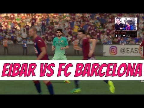 SD EIBAR Vs FC BARCELONA EN VIVO