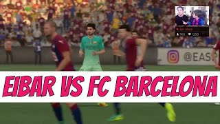Video Gol Pertandingan Eibar vs FC Barcelona