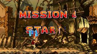 Metal Slug 1 Full Walkthrough