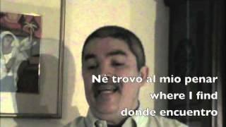 """Bartolomeo Tromboncino (1509) """"Tu dormi io veglio"""" Rómulo Vega-González"""