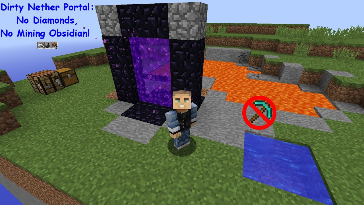 Tutorials/Nether portals – Minecraft Wiki