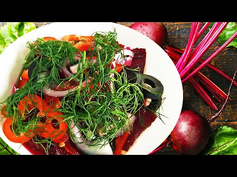 Cold Beetroot Salad With Orange Dressing, A Savory Roasted Beetroot Salad Recipe!
