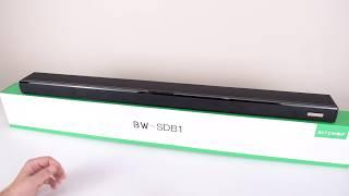 Using Soundbar for PC - BlitzWolf BW-SDB1