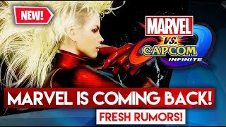 MARVEL IS COMING BACK! MvCI is coming back as Mavel vs. Capcom 4! - NEW rumors!