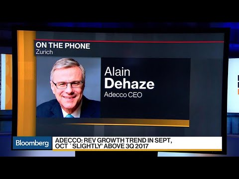 Adecco CEO on 3Q Earnings, Wage Growth, German Economy