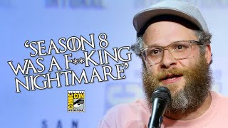 Seth Rogen Completely DESTROYS Game Of Thrones Season 8 Writers D&D At San Diego Comic-Con