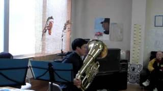 福岡博多のデイサービスやぐらもんです チューバ奏者からのクイズなんか...