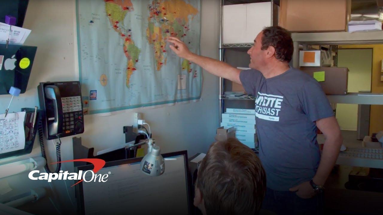 Creating A Win Win Business - #SmallBizProud | Capital One - YouTube