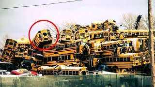 He Bought 42 School Buses To Build Something Incredible