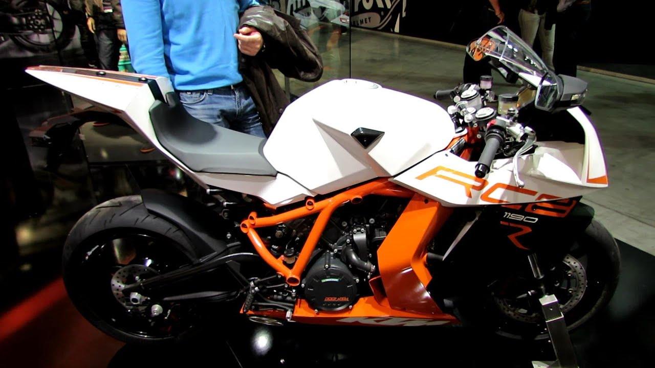2014 KTM RC8 1190R Walkaround - 2013 EICMA Milan Motorcycle ...