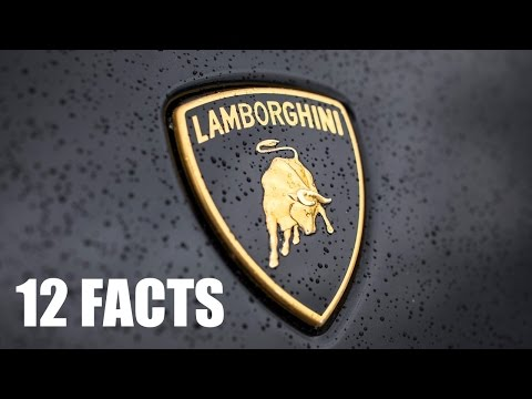 12 Facts about Lamborghini - All Models and History