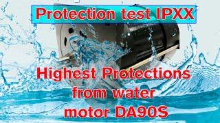 Производственный процесс электромоторов DA90C и степень защиты от воды