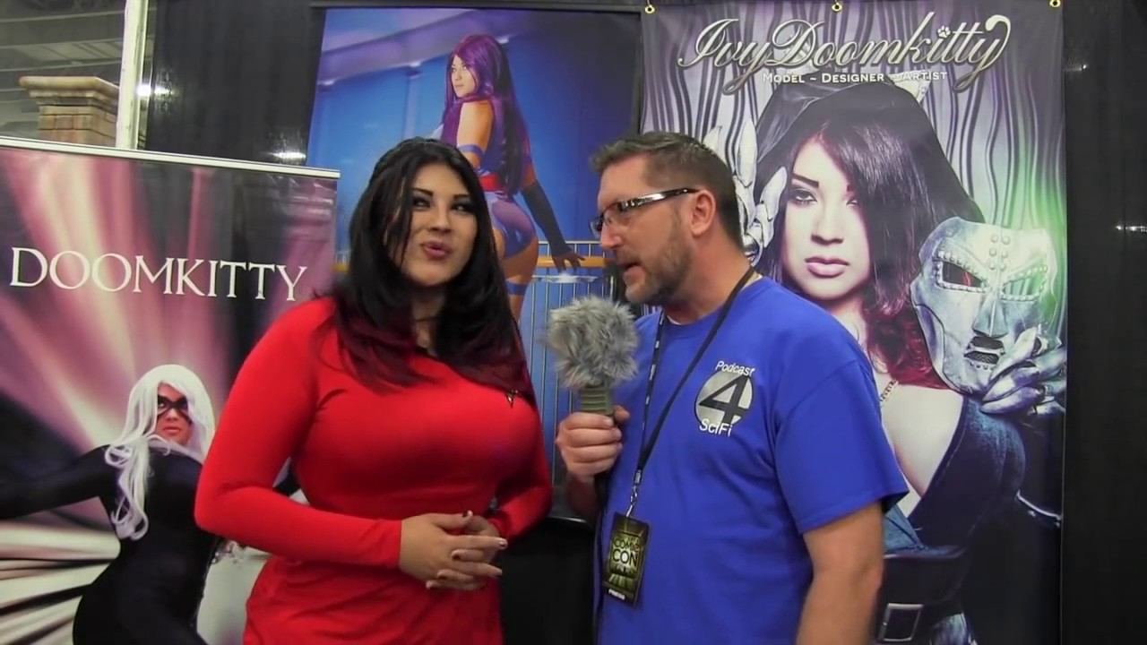 SLCC Ivy DoomKitty interview Star Trek Cosplay ...