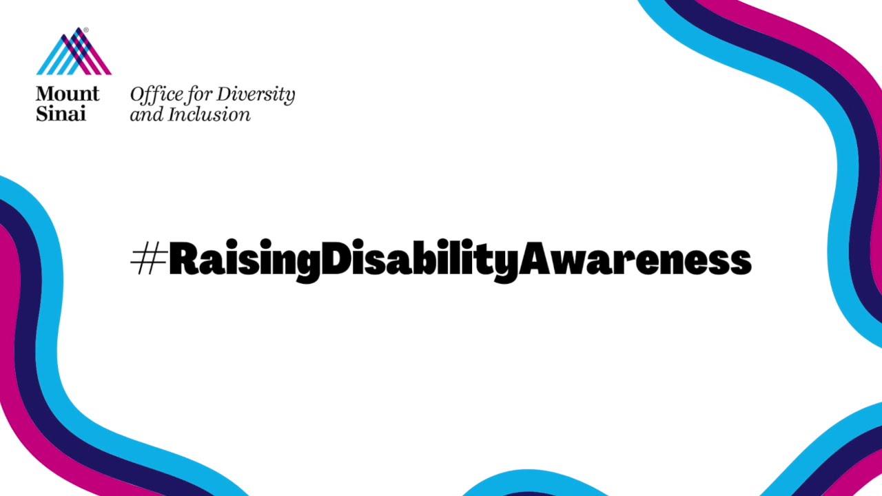 Autism Spectrum Disorder Across the Lifespan (ODI Disability Awareness Month 2020)