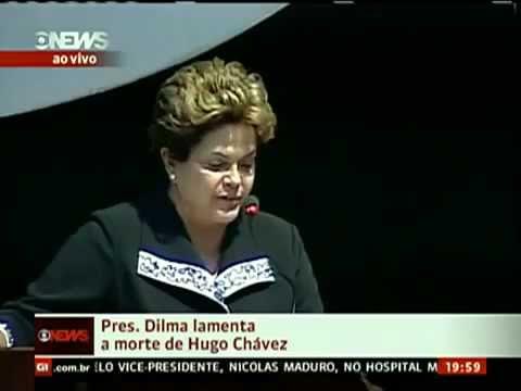Dilma lamenta Morte de Hugo Chávez , um QUEM Chama de