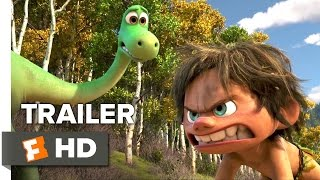 The Good Dinosaur Official Trailer #2 (2015) - Raymond Ochoa, Jeffrey Wright Animated Movie HD