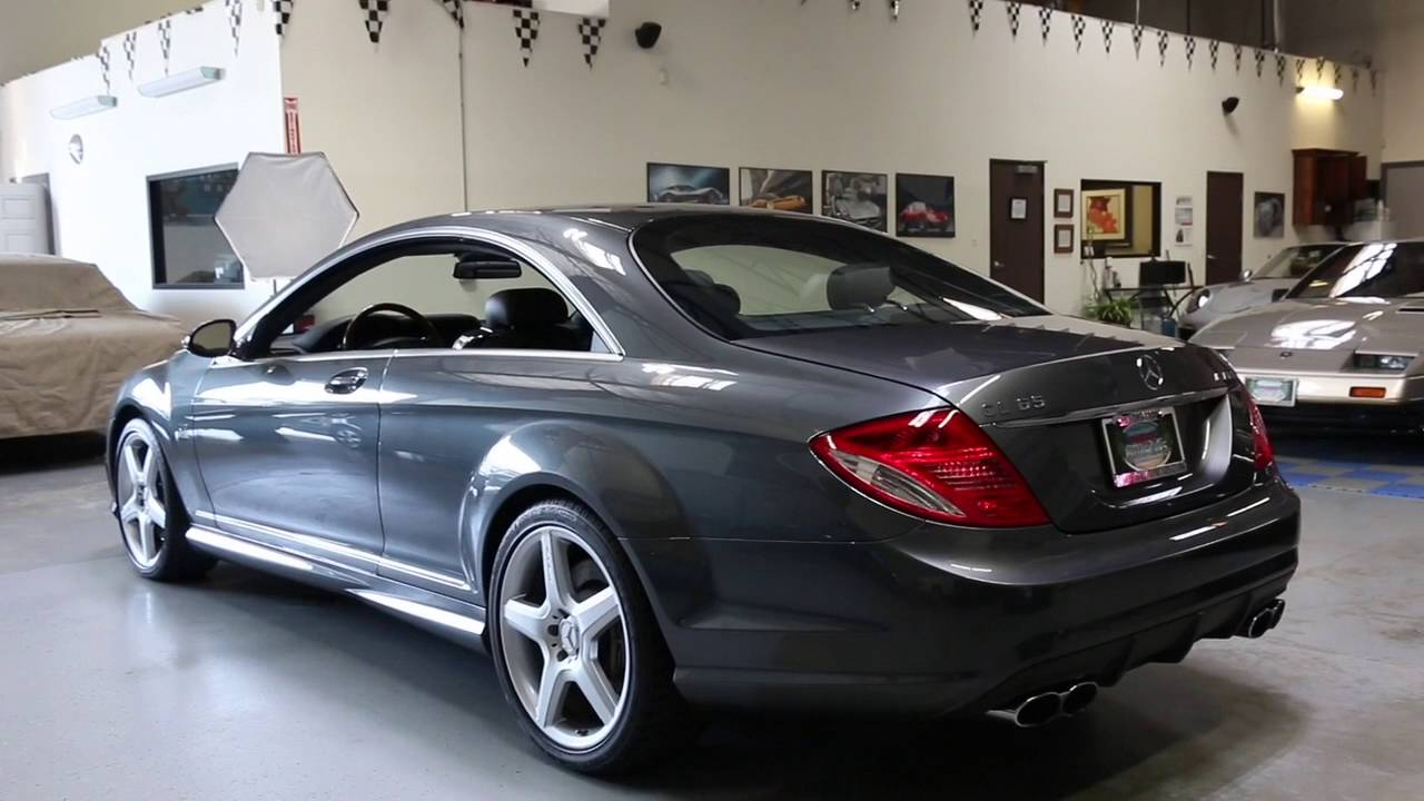 2008 mercedes benz cl65 amg for sale