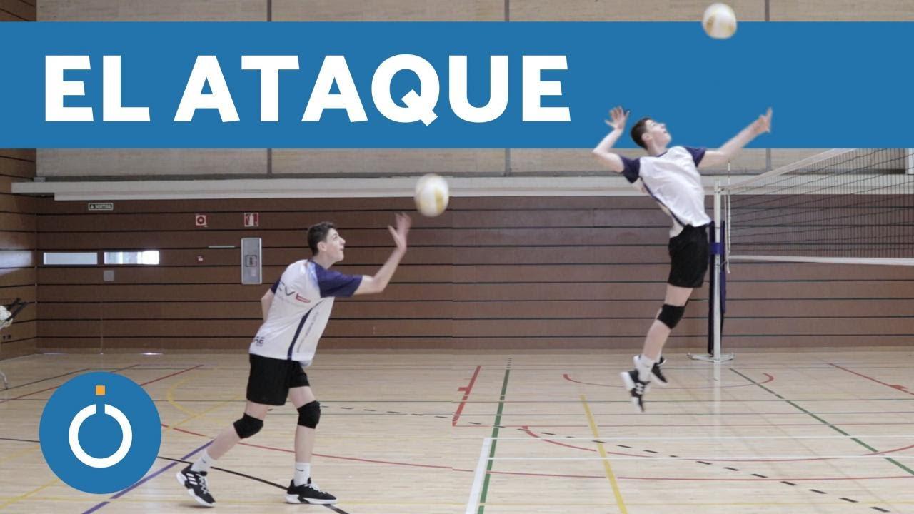 tecnicas de ataque voleibol